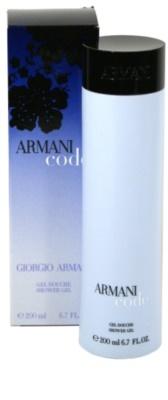 Armani Code Woman sprchový gel pro ženy