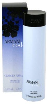 Armani Code Woman żel pod prysznic dla kobiet