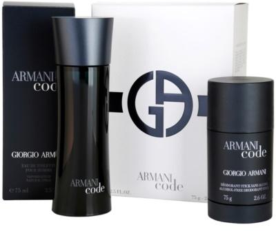 Armani Code ajándékszett