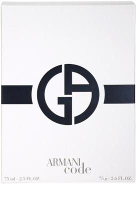 Armani Code coffrets presente 3