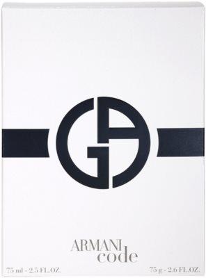 Armani Code dárková sada 3