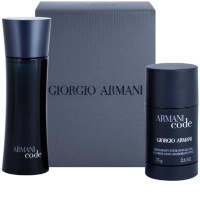 Armani Code coffrets presente 4