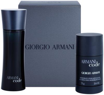 Armani Code dárková sada 4
