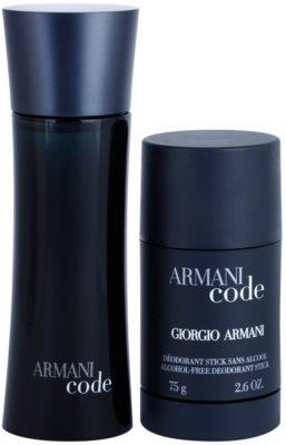 Armani Code coffrets presente 5