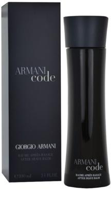Armani Code After Shave balsam pentru barbati