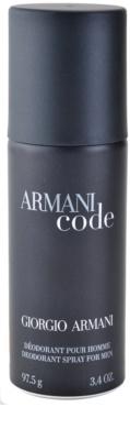 Armani Code desodorante en spray para hombre