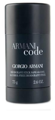 Armani Code desodorante en barra para hombre