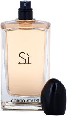 Armani Si Eau de Parfum für Damen 3