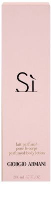 Armani Si Body Lotion for Women 3