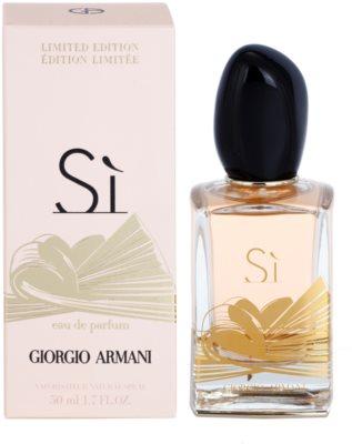 Armani Si Limited Edition eau de parfum nőknek