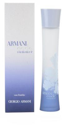 Armani Code Summer Pour Femme 2010 туалетна вода для жінок   ( eau fraiche )