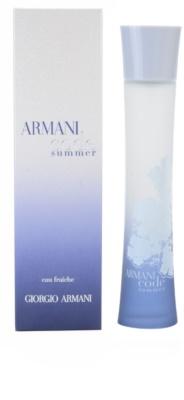 Armani Code Summer Pour Femme 2010 Eau de Toilette para mulheres   ( eau fraiche )