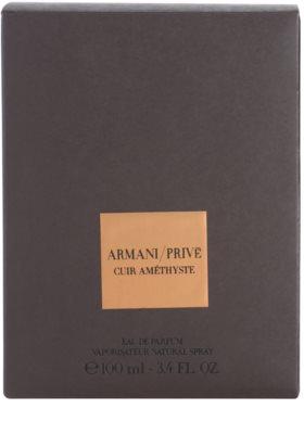 Armani Prive Cuir Amethyste парфюмна вода унисекс 4