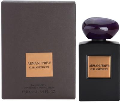Armani Prive Cuir Amethyste parfémovaná voda unisex