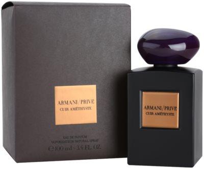 Armani Prive Cuir Amethyste eau de parfum unisex 1