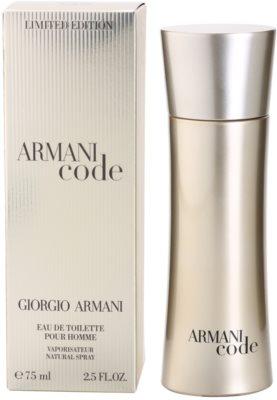 Armani Limited Edition Golden Pour Homme eau de toilette férfiaknak
