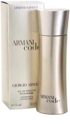 Armani Limited Edition Golden Pour Homme Eau de Toilette pentru barbati 1
