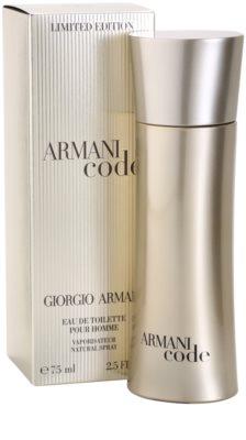 Armani Limited Edition Golden Pour Homme туалетна вода для чоловіків 1