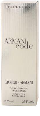 Armani Limited Edition Golden Pour Homme Eau de Toilette pentru barbati 4