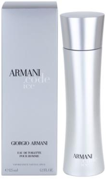Armani Code Ice eau de toilette férfiaknak