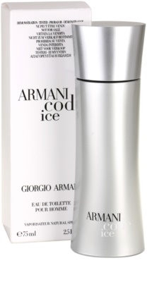 Armani Code Ice тоалетна вода тестер за мъже 2