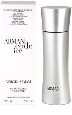 Armani Code Ice тоалетна вода тестер за мъже 3