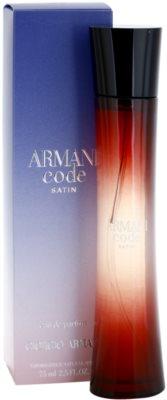Armani Code Satin Eau de Parfum für Damen 1