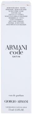 Armani Code Satin парфумована вода тестер для жінок 2