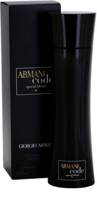 Armani Code Special Blend toaletna voda za moške 1