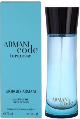 Armani Armani Code Turquoise eau de toilette férfiaknak