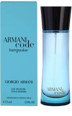 Armani Armani Code Turquoise toaletna voda za moške