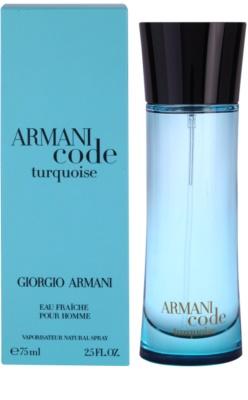 Armani Armani Code Turquoise туалетна вода для чоловіків