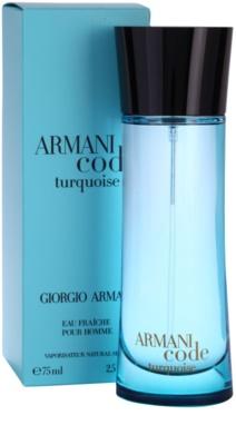 Armani Armani Code Turquoise Eau de Toilette pentru barbati 1