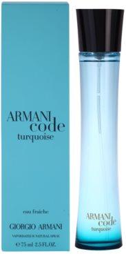 Armani Armani Code Turquoise освіжаюча вода для жінок 1