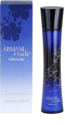 Armani Code Ultimate Femme Eau De Parfum pentru femei