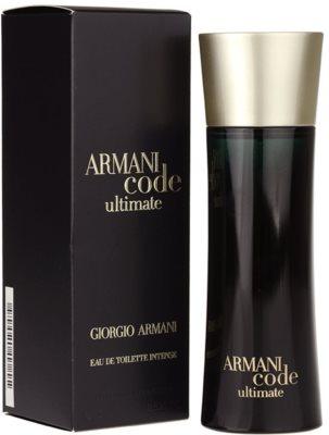 Armani Code Ultimate woda toaletowa dla mężczyzn 1