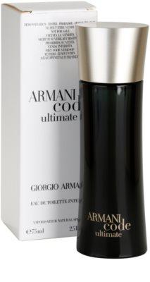 Armani Code Ultimate Eau de Toilette tester pentru barbati 2