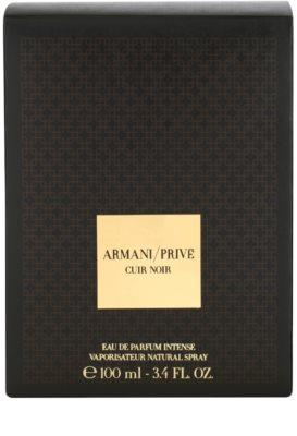 Armani Prive Cuir Noir Eau de Parfum unissexo 4