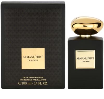 Armani Prive Cuir Noir Eau de Parfum unissexo