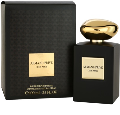Armani Prive Cuir Noir Eau de Parfum unissexo 1
