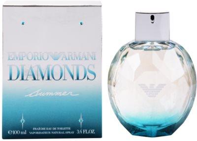 Armani Emporio Diamonds Summer Fraiche 2013 eau de toilette nőknek