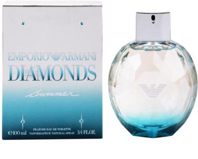Armani Emporio Diamonds Summer Fraiche 2013 Eau de Toilette para mulheres