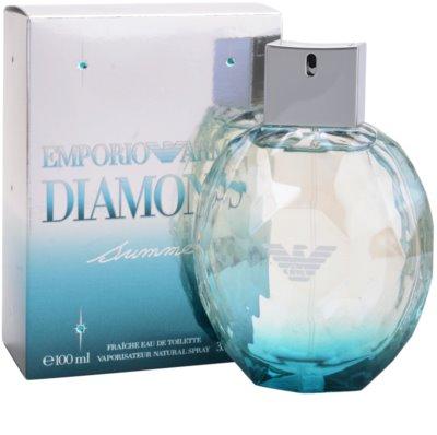 Armani Emporio Diamonds Summer Fraiche 2013 Eau de Toilette para mulheres 1