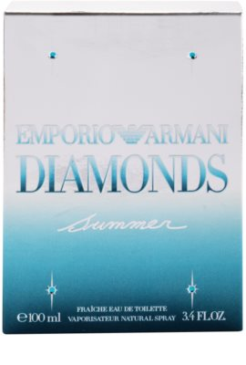 Armani Emporio Diamonds Summer Fraiche 2013 Eau de Toilette para mulheres 3