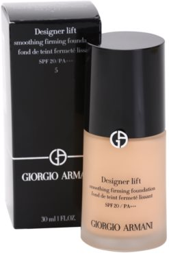 Armani Designer Lift make-up cu efect de lifting si fermitate 2