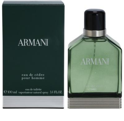 Armani Eau de Cedre eau de toilette para hombre