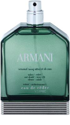 Armani Eau de Cedre туалетна вода тестер для чоловіків