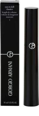 Armani Eyes To Kill Classico szempillaspirál a dús pillákért 3