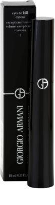 Armani Eyes To Kill Excess Volumen-Mascara für geschwungene Wimpern 2