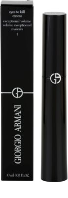 Armani Eyes To Kill Excess Volumen-Mascara für geschwungene Wimpern 3